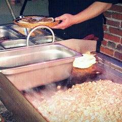 Photo taken at Dia De Los Tacos Cart by Jenn J. on 12/14/2011
