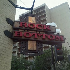 Photo taken at Rock Bottom Restaurant & Brewery by Bre F. on 9/29/2011