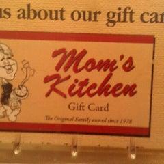 Photo taken at Mom's Kitchen by Bennett G. on 6/20/2012