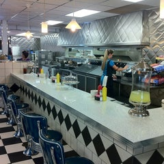Photo taken at Great Scott Diner by Chris T. on 8/8/2011