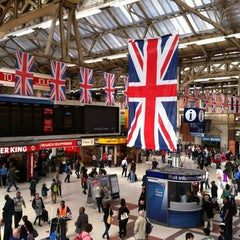 Photo taken at London Victoria Railway Station (VIC) by Massimo C. on 6/30/2012