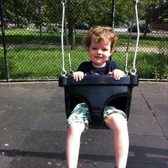 Photo taken at Vincent B. Abate Playground by Freyja B. on 5/29/2011