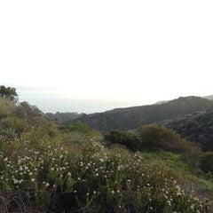 Photo taken at East Topanga Fire Road Trailhead by Annika W. on 5/6/2012