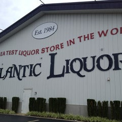 Photo taken at Atlantic Liquors by Anna S. on 8/26/2012