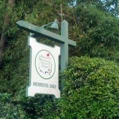 Photo taken at Augusta National Golf Club by Carlos O. on 4/1/2012