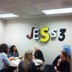 Photo taken at JESS3 - creative interactive agency by Shireen M. on 11/10/2011