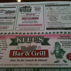 Photo taken at Klee's Bar & Grill by Jessica D. on 7/5/2012