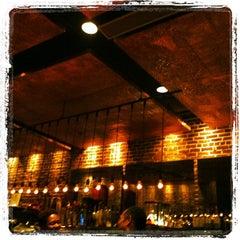 Photo taken at Mompou Tapas Bar & Lounge by Leslie on 11/8/2011