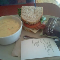 Photo taken at Panera Bread by Chris J. on 8/12/2011