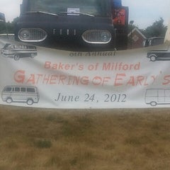 Photo taken at Bakers of Milford by Samantha T. on 6/24/2012