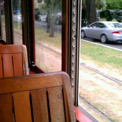 Photo taken at St. Charles Streetcar by @tdavidson on 10/28/2011