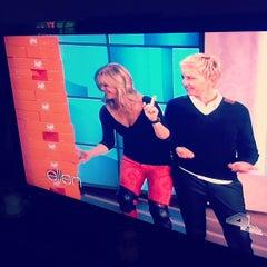 Photo taken at The Ellen DeGeneres Show by JENGA on 5/8/2012