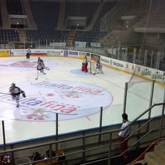 Photo taken at St. Jakob Arena by David S. on 8/21/2011
