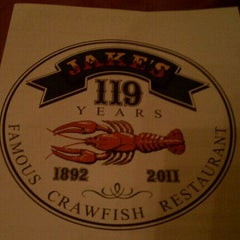 Photo taken at Jake's Famous Crawfish by Rob M. on 9/27/2011