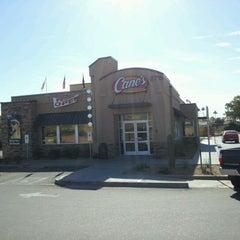 Photo taken at Raising Cane's Chicken Fingers by Яichard on 11/19/2011