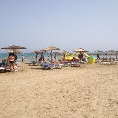 Photo taken at Playa Torre Sant Vicent by Maurizio P. on 8/18/2012