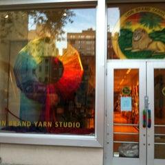 Photo taken at Lion Brand Yarn Studio by Kim S. on 8/7/2012