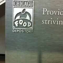 Photo taken at Greater Chicago Food Depository by Robert H. J. on 9/21/2011