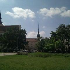 Photo taken at Moravské náměstí by Martin L. on 6/7/2011