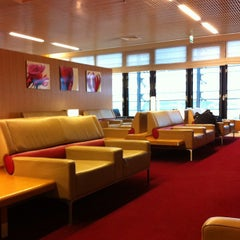 Photo taken at Air France Lounge by Sunao F. on 11/25/2011