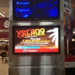 Photo taken at Cinemex by Marco Antonio D. on 8/11/2012