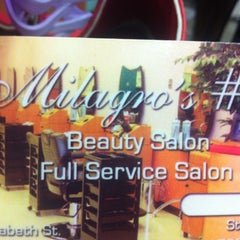 Photo taken at Milagros Beauty Salon by Cristina C. on 6/15/2012