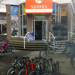 Photo taken at Spokes Bike Rentals by Steve W. on 3/29/2012