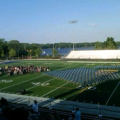 Photo taken at Memorial Field EGR Stadium by Craig A. on 5/24/2012