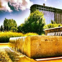 Photo taken at Bota Bota, spa-sur-l'eau by Geneviève E. on 8/12/2012