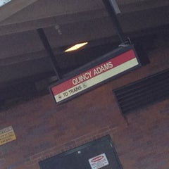 Photo taken at MBTA Quincy Adams Station by Meredith P. on 8/20/2012