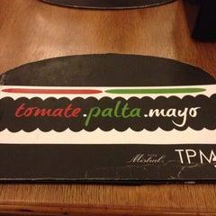 Photo taken at TPM Tomate Palta Mayo by Patty V. on 8/16/2012
