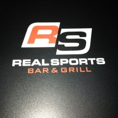 Photo taken at Real Sports Bar & Grill by Kyle D. on 5/27/2012