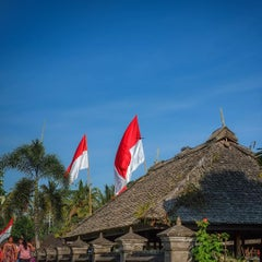 Photo taken at Desa Adat Tradisional Penglipuran (Balinese Traditional Village) by Rah J. on 8/17/2015