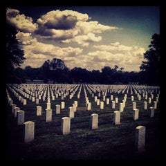 Photo taken at Arlington National Cemetery by Adam G. on 7/26/2013