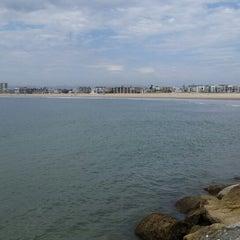 Photo taken at Marina Del Rey pier by Carlos T. on 9/8/2014