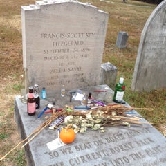 Photo taken at F. Scott Fitzgerald's Grave by Katalin E. on 9/21/2015