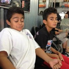 Photo taken at Goodfellas Barbershop by Josie C. on 8/20/2013