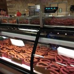 Photo taken at Prasek's Hillje Smokehouse by Danny G. on 10/17/2012