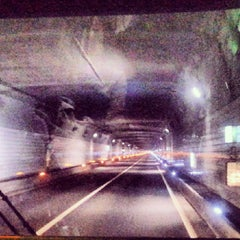 Photo taken at 남산3호터널 (Namsan Tunnel 3) by Jimmy S. on 11/4/2013
