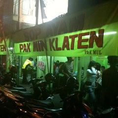Photo taken at Sop Ayam Pak Min Klaten by Anggie T. on 10/9/2012