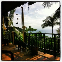 Photo taken at Koh Tao Star Villa by Ines P. on 7/14/2013
