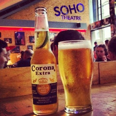 Photo taken at Soho Theatre Bar by Marcy R. on 10/5/2013