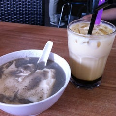 Photo taken at Bukit Cina Soya Bean by Christina L. on 11/2/2014