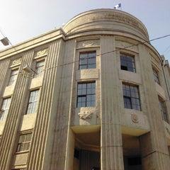 Photo taken at СПГУТД (Санкт-Петербургский государственный университет технологии и дизайна) by Alena M. on 7/13/2013