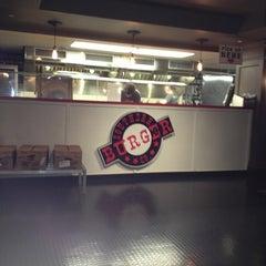 Photo taken at Southern Burger Company @ Warehouse Row by Theresa R. on 1/22/2013