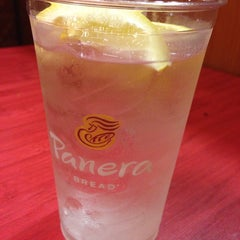 Photo taken at Panera Bread by Jackie B. on 7/15/2014