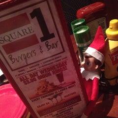 Photo taken at Square 1 Burgers & Bar by Carolina on 12/7/2012