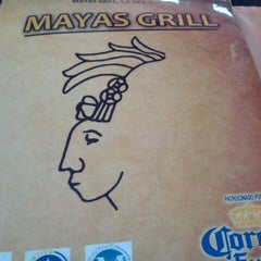 Photo taken at Maya's Grill by Diego A. on 3/28/2013