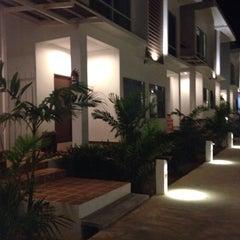 Photo taken at Rattanapura Beach Resort (รัตนปุระ บีช รีสอร์ท) by N~joyJy j. on 7/25/2014