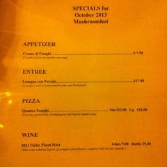 Photo taken at Tommaso's Restaurant by Steven W. on 10/24/2013